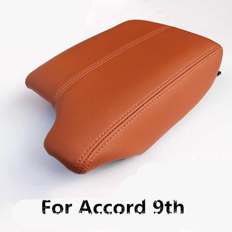 Customzied High Quality Microfibre Leather Center Armrest Cover For Honda Accord 9th AAB012