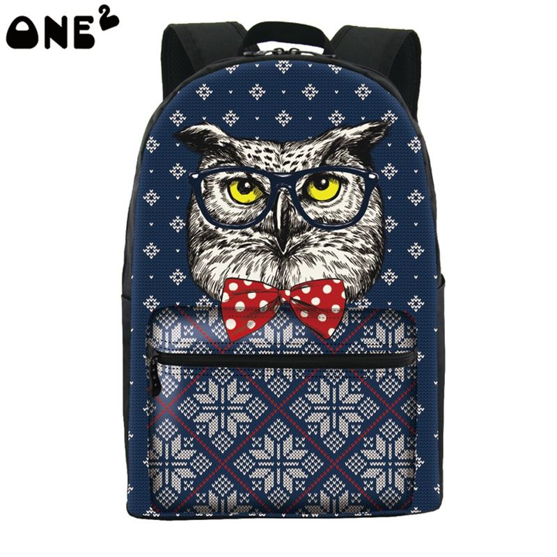 Fashion Children School bags Cute 3D Animal Owl Schoolbag for Girls Casual Kids Women Shoulder School Book bag Mochila Escolar hot fashion design personality little bear women backpacks cute character shapes cartoon girls schoolbag casual shoulder bag