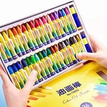 36 цветов Мелки цветные набор для масляной пастели мелки нетоксичные безопасные для детей Детские Рисование Живопись школьные принадлежности