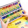 36 색상 크레용 컬러 오일 파스텔 세트 크레용 어린이를위한 비 독성 안전 어린이 그림 그리기 학교 그림 용품