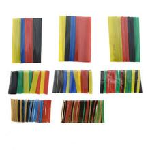 Tubing Wire-Cable Sleeving Heat-Shrink-Tube 164pcs-Set Shrinking Polyolefin Insulated