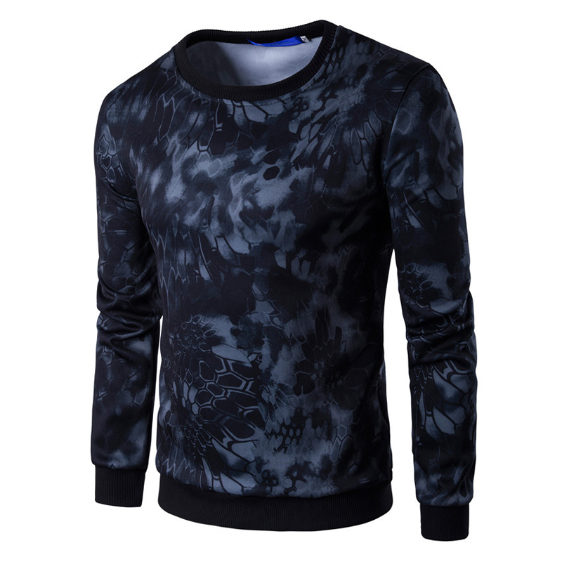 Hoodies Men Autumn 2017 Military camouflage Printing Pullover Casual Hip hop Hoodies & Sweatshirts Plus 3d sweat hoodies H1017
