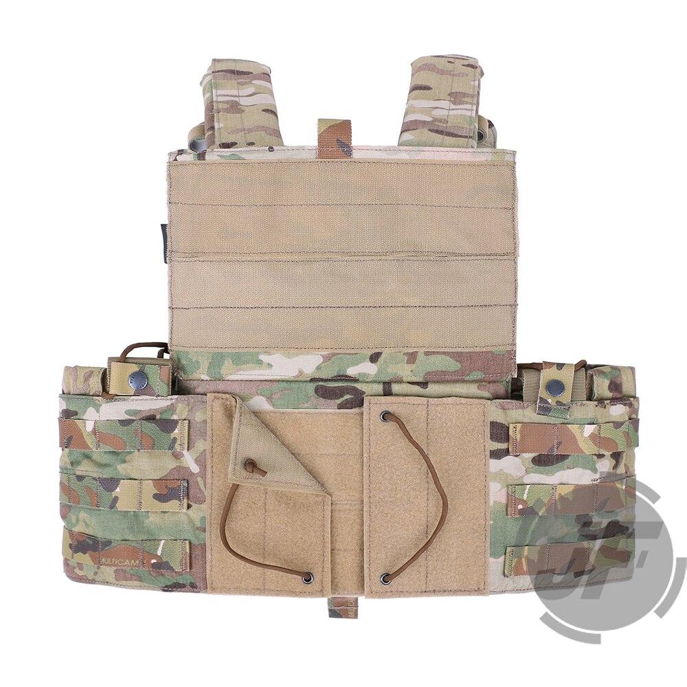 Image 3 - Emerson Tactical Modular MOLLE LBT 6094A Plate Carrier EmersonGear LBT 6094A Combat Vest w/ M4 M16 5.56 .223 Magazine PouchesHunting Vests   -