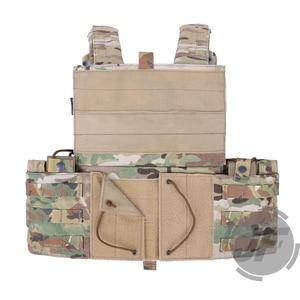 Image 3 - Emerson Tactical Modular MOLLE LBT 6094A Plate Carrier EmersonGear LBT 6094A Combat Vest w/ M4 M16 5.56 .223 Magazine Pouches