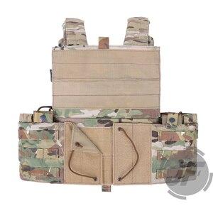 Image 3 - Emerson Tactical Modulare MOLLE LBT 6094A Platte Träger EmersonGear LBT 6094A Kampf Weste w/ M4 M16 5,56. 223 magazin Beutel