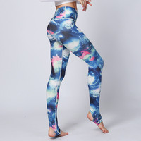 Women Yoga Pants Sports Tights Leggings Fitness Running Tights Colorful Butterflies Sport Trousers Women Fitness Clothing