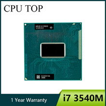 Intel Core I7-3540M 3.0G Hz 4 M Soket G2 Laptop Prosesor CPU SR0X6 I7 3540 M(China)