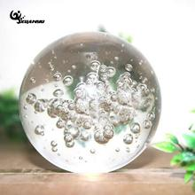 4cm 5cm Glass Round Fountain Bubble Crystal Ball Ice Cracking Home Decor