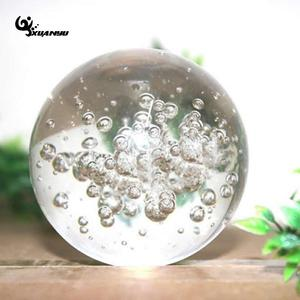 4cm 5cm Glass Round Fountain Bubble Crystal Ball Glass Ice Cracking Ball Home Decor