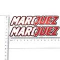 K-fuerte motor Estilo Decorativo Vinilo Adhesivo Etiqueta Engomada de Moda Marc Márquez Cinta Para Motorycle Casco etc
