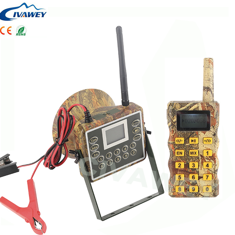 MIX sounds remote controller 60W hunting bird duck goose geese voice caller hunting mp3 player animal