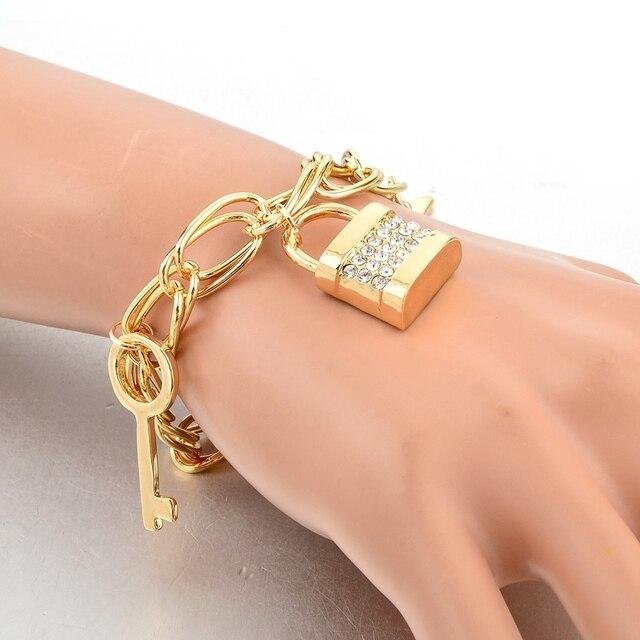 Купить chicvie золотая звезда брелок цепочка лошадь браслеты и для картинки