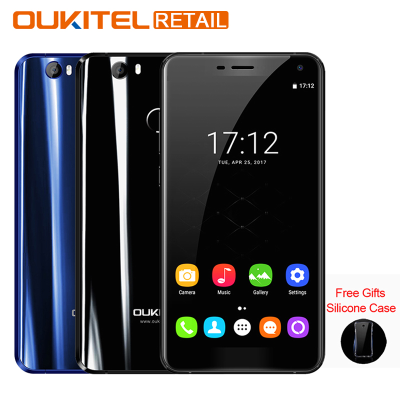 OUKITEL U11 Plus 5.7'' FHD Mobile Phone Android 7.0 MTK6750T Octa Core 4G RAM 64G ROM 16MP+16MP Fingerprint 4G Smartphone