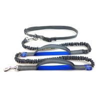 Retractable Elasticity Hand Freely Dog Leash For Running Reflective Pet Collar Collar Jogging Lead Adjustable Waist