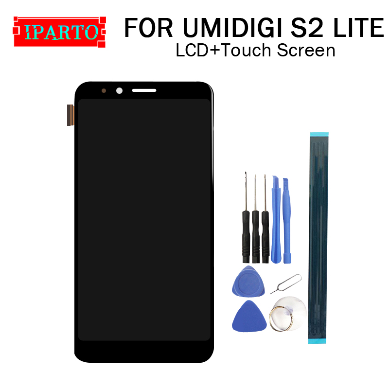 6 0 inch UMIDIGI S2 LITE LCD Display Touch Screen Digitizer Assembly 100 Original New LCD