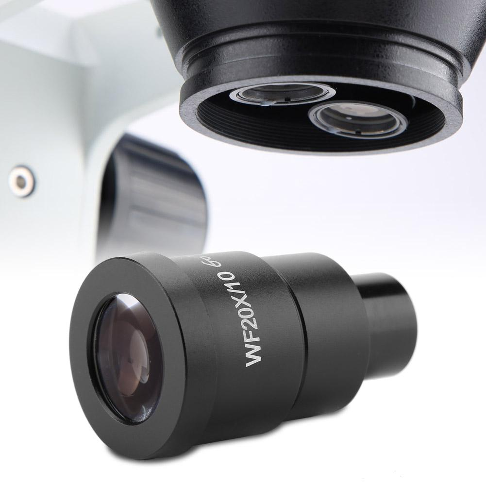 Pasamer 1pc WF20X//10 Wide Field Stereo Microscope Eyepiece Mounting Size 30mm