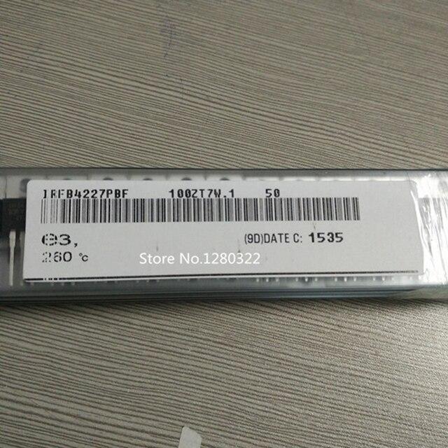 50 יחידות IRFB4227PBF IRFB4227 FB4227 MOSFET 200 V 65A TO 220 מקורי אותנטיים וחדש