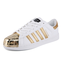 2017Gold Fashion Breathable Lover shoes Casual Shoes Basket Femme Flats Tenis Feminino Mens Trainers Zapatillas Deportivas Mujer
