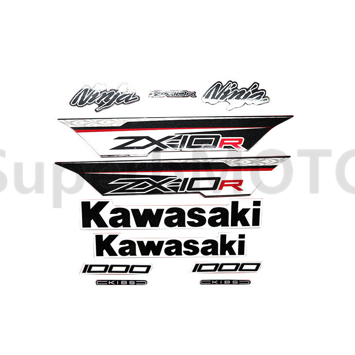 3m Stickers Decal For Kawasaki Ninja Zx10r Zx-10r 1000 2011 2012 2013 Whole Car Sticker Motorbike Accessories Back To Search Resultsautomobiles & Motorcycles