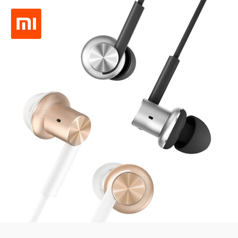 Original Xiaomi Mi IV Hybrid Earphones Wired Control with MIC Dual Drivers Dynamic and two balanced