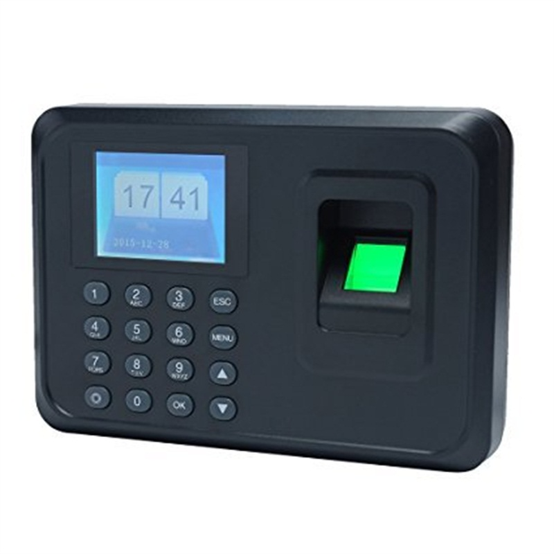 Hotsale 1000users 2.4 inch TFT Screen fingerprint time attendance Employee Biometric Time Recorder With U-disk Free Software biometric time attendance fingerprint time recoorder time clock for office employee with usb support english language