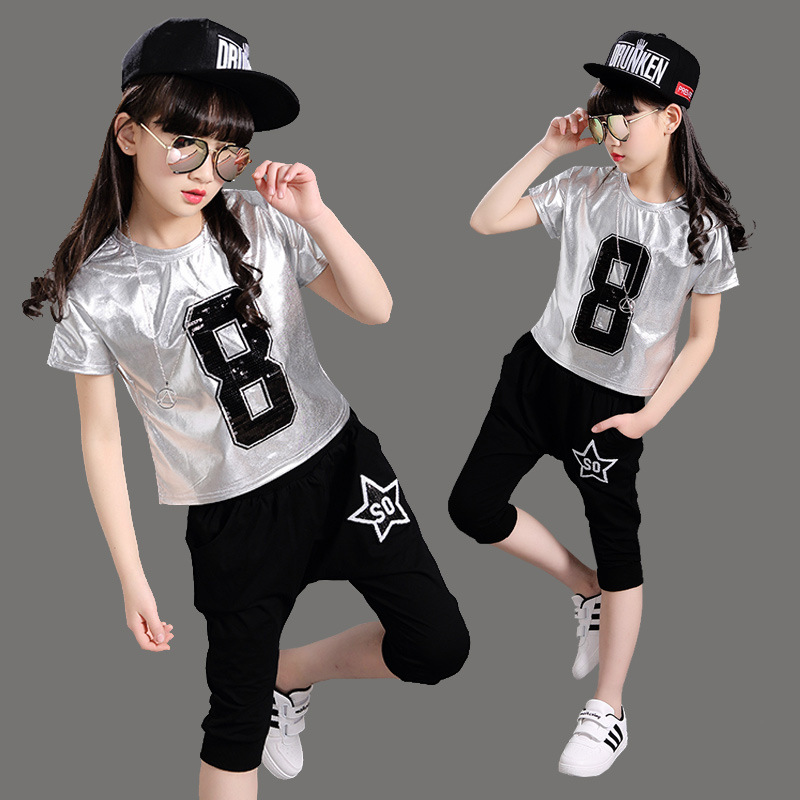 Buy Hip hop costumes dance for kids picture trends