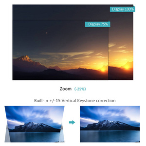 Image 5 - ThundeaL TD80 Mini led projektör 1280x720 taşınabilir HD HDMI Video C80 3D LCD C80 UP Android WiFi C80Up Beamer ev sinema