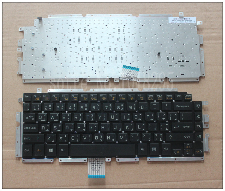 New Arabic Laptop Keyboard for LG Z330 Z350 Z355 black AR keyboard