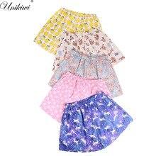 Милые Для женщин Летний сон плавки с принтом с героями мультфильмов Хлопковая пижама Шорты домашние свободные пижамы брюки плюс Размеры M-XL Lounge.17 Цвета