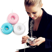 Third Generation Donuts USB Mini Air Ultrasonic Humidifier Water Diffuser Mist Maker Fogger
