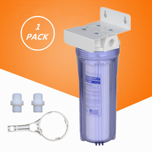 Household 10 Inch Thicken Pre-Water Filter Single Stage Explore-proof Housing Cartridge With PPF Cotton