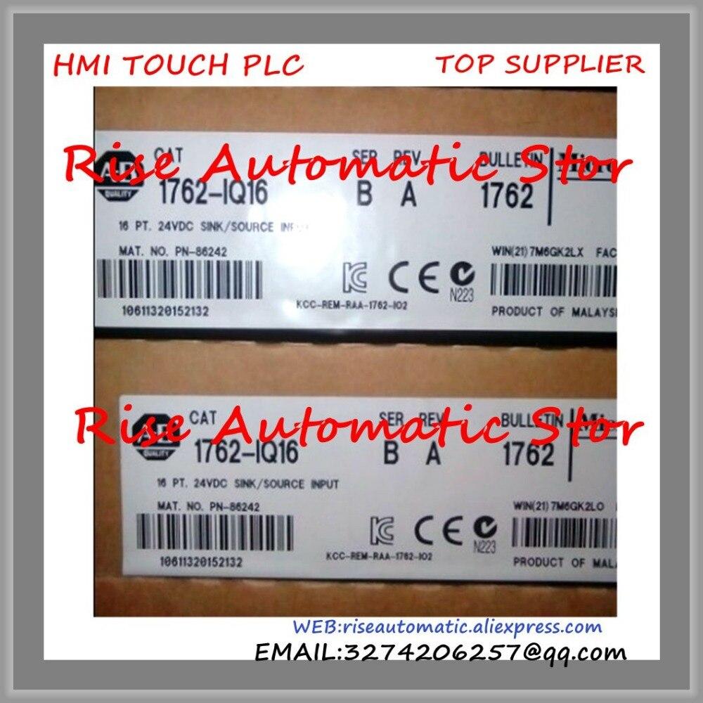 New Original Programmable Controller 1762-OW16 PLC 5-125VDC 16 Output Points Digital Output Module new original programmable controller digital plc module di 4 do 4 transistor output dvp08xp211t