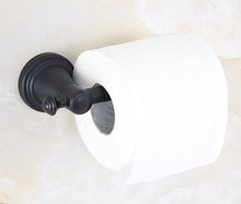 цена на Black Oil Rubbed Antique Brass Wall Mounted Bathroom Toilet Paper Roll Holder Bathroom Accessory mba816