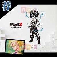 Pegatina Anime Cartoon Car Sticker DRAGON BALL Son Goku Vinyl Wall Sticker Decal Decor Home Decoration