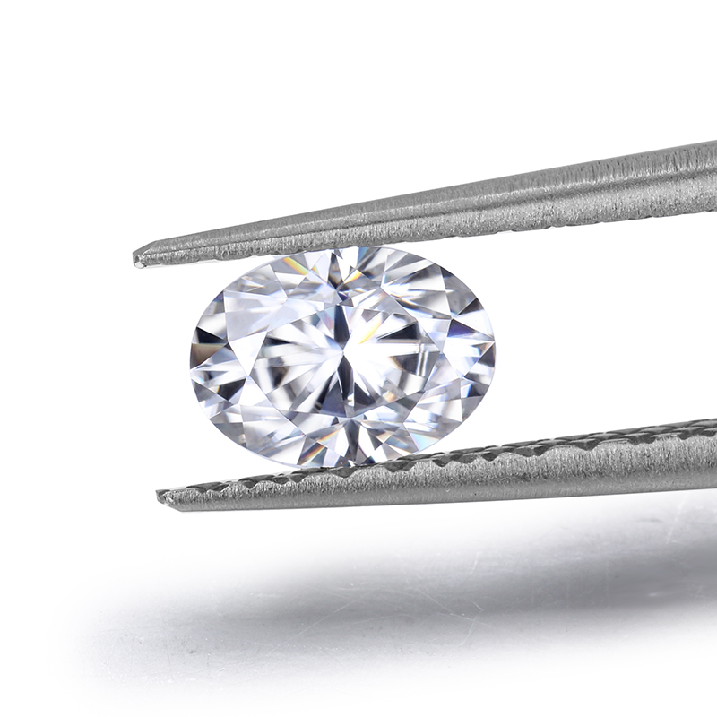 Moissanites Jewelry-Making Loose-Stone Diamonds Brilliant White for Lady Engagement-Rings