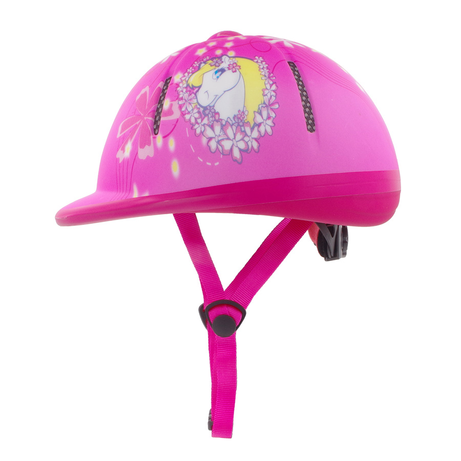 CE Professional Horse Riding Helmet 44-54cm Kids Equestrian Safty Helmet Horse Riding Protective for 3-11years Children Helmet