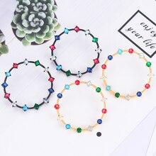 SisCathy Trendy Unique Design Round Stud Statement Earrings for Women Wedding Cubic Zirconia Dubai Bridal 2019
