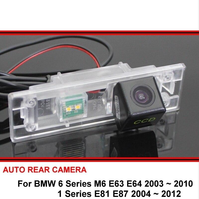Otomobiller ve Motosikletler'ten Araç Kamerası'de Balıkgözü SONY BMW 1 E81 E87 6 serisi 640I F12 F13 F06 araba dikiz park ters yedekleme arka görüş kamera HD gece görüş title=