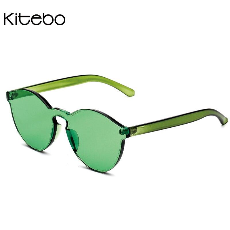 KITEBO transparent frame vintage women cat eye luxury goggles sun ...