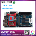 Xixun K20 rgb led controller card sending card outdoor p10 full color led display module led advertising board electronic led