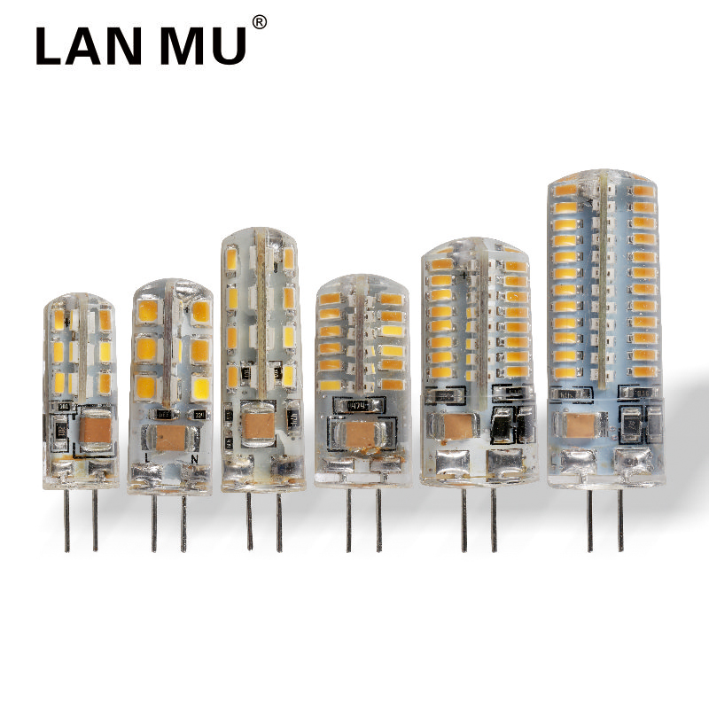 LAN MU G4 LED Lamp 3W 4W 5W 6W 7W 9W LED Bulb AC 220V SMD 2835 3014 Lampada LED G4 light Replace Halogen Lamp G4 Chandelier g4 led bulb smd 2835 3014 g4 led lamp 3w 4w 5w 6w 7w 10w led light ac dc 12v 220v 360 beam angle replace chandelier halogen lamp