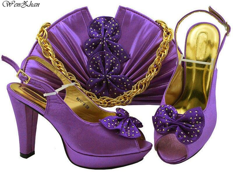 Assortis Sacs Fleur Ensembles Pompes Décoré Sac Et Nigérian Parti 24 Africain Chaussures Italiennes Avec B811 Dames Ensemble Femmes w1Z8cq