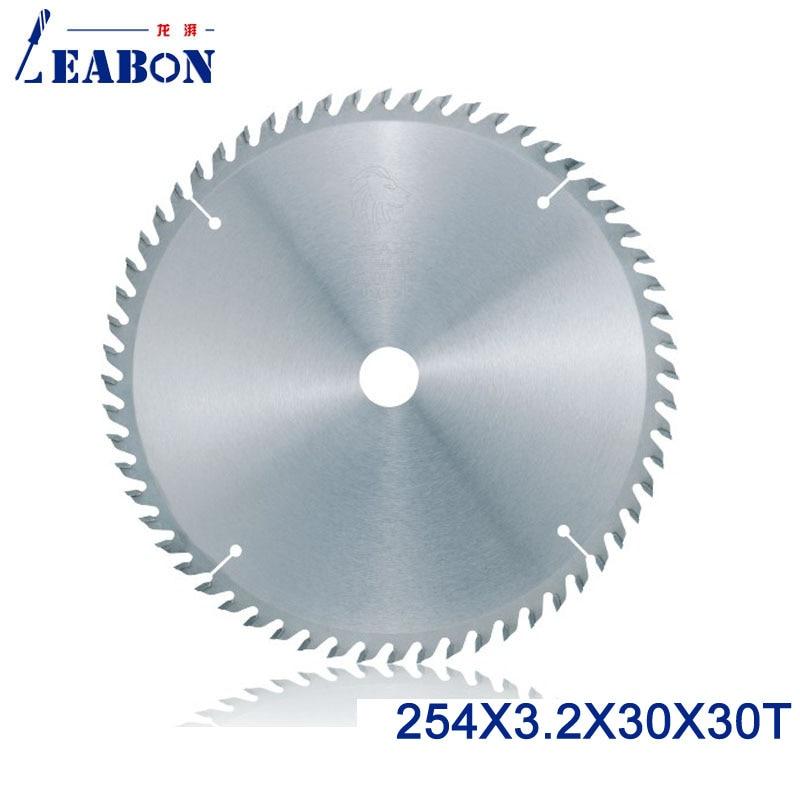 LEABON 254mm TCT Saw Blade 254 3 2 30 60T ATB Teeth Woodworking Circular Saw Blade