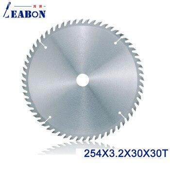 цена на LEABON 254mm  TCT Saw Blade  254*3.2*30*60T  (ATB Teeth ) Woodworking Circular Saw Blade for Woodworking Cutting