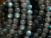 Free Shipping Madagascar Grade A Labradorite 8 5 8 7mm Smooth Loose Beads