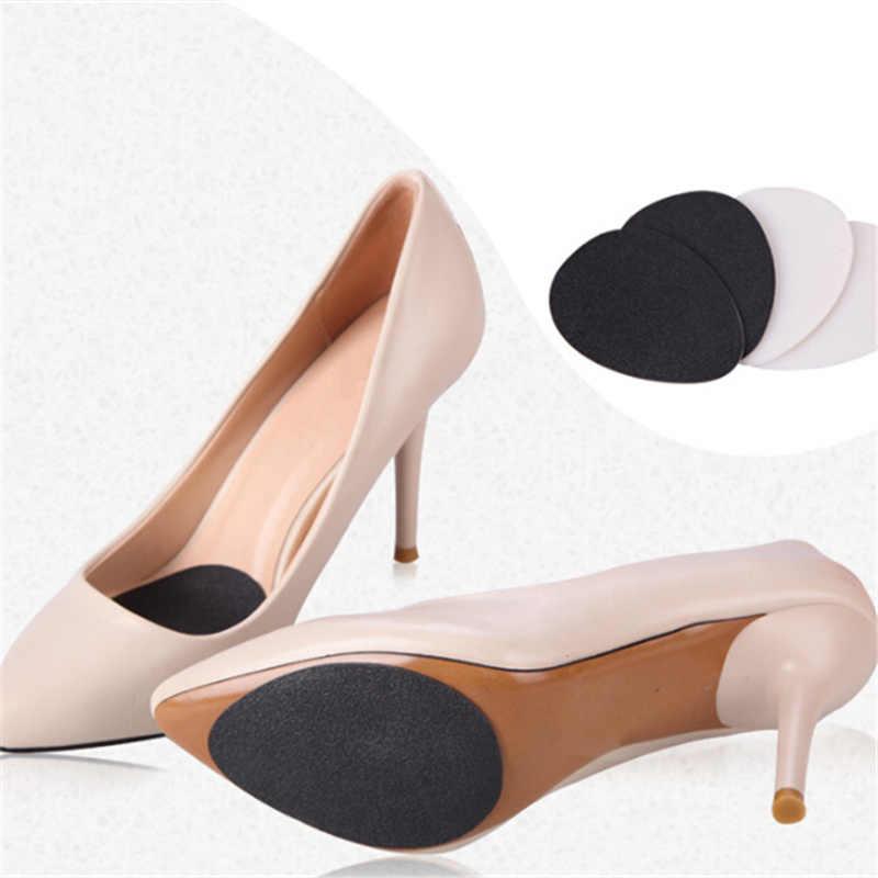 Kaymaz Yapışkan Ayakkabı Yastık Yüksek Topuk Tabanlık Koruyucu Kauçuk Ayakkabı Pedleri Ön Ayak Ekler Kadınlar Yüksek Topuklu Tabanı Sticker