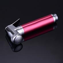 MOIIO rose red  High quality hand held zinc aluminium bidet sprayer toilet shower faucet