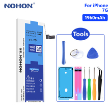 NOHON Phone Lithium Battery For iPhone SE 7Plus 8 Plus iPhone7 iPhone8 Replacement Internal Bateria Free Tools