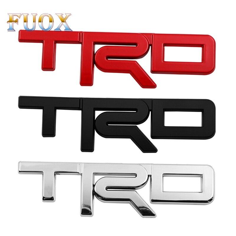 Car Styling TRD Refitted The Standard For Toyoda Eishikamimizu Corolla Linglandi Sports Decorative Vehicle Sticker Accessories