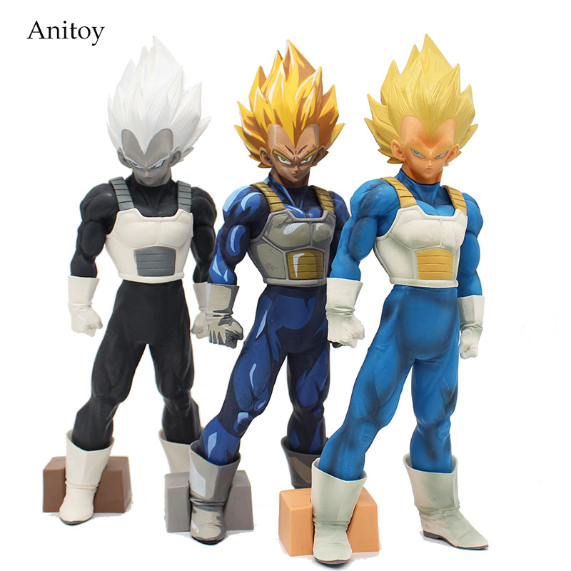 Dragon Ball Z SMSP Super Master Stars Piece The Vegeta PVC Figure Collectible Toy 30cm KT4150 shfiguarts dragon ball z vegeta pvc action figure collectible model toy 6 5 16cm